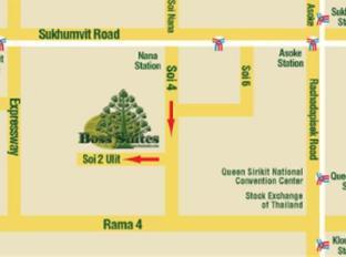 Boss Suites Nana Bangkok - Map