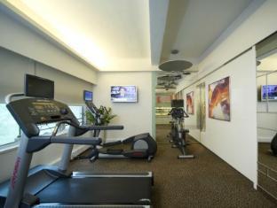 โรงแรมไอคลับ วาน ชัย ฮ่องกง - ห้องฟิตเนส