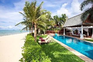 [メ ナム]ヴィラ(120m2)| 4ベッドルーム/4バスルーム Four Bedroom Koh Samui Beachfront Villa