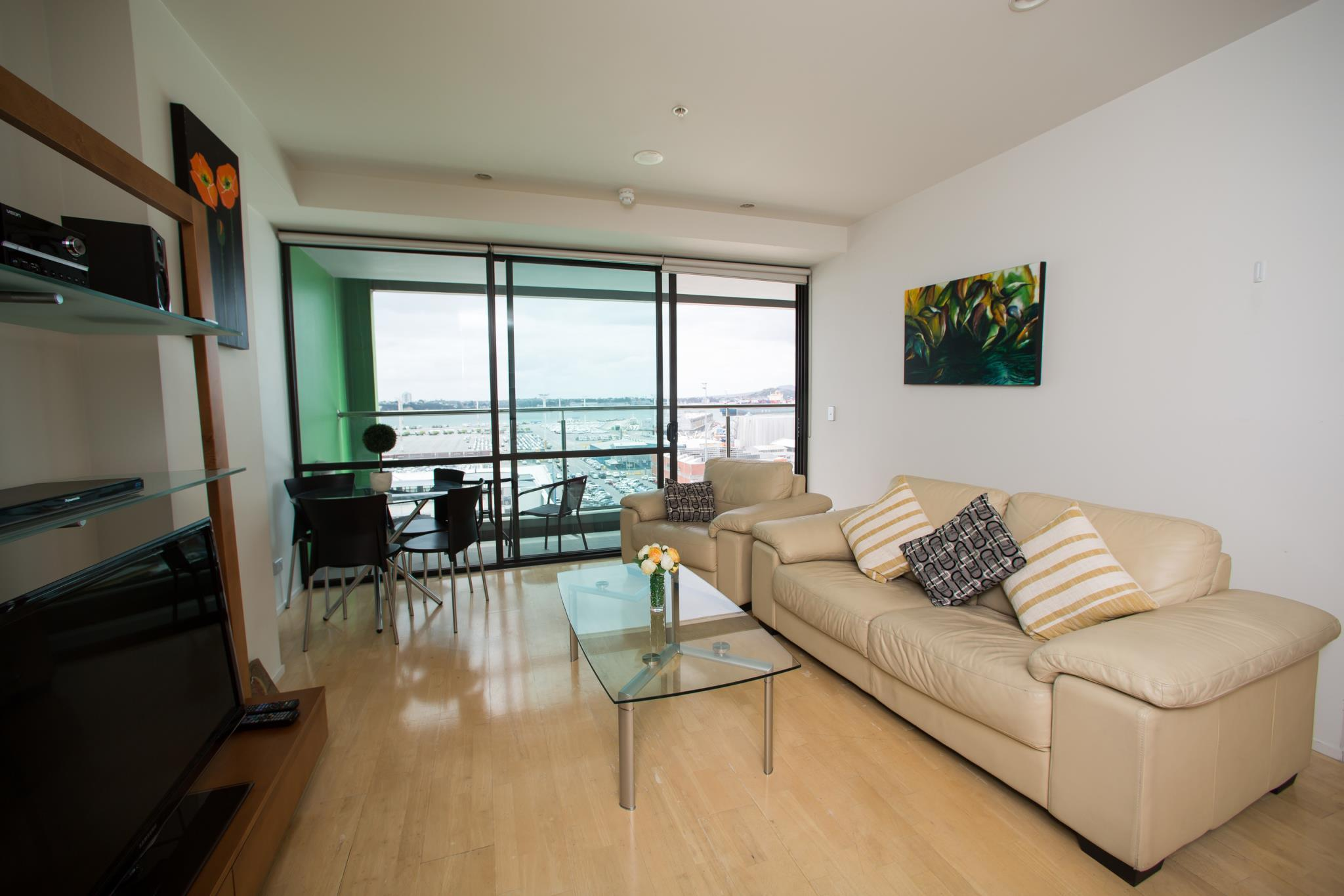 Central Harbor Views Two Bedroom Apartment