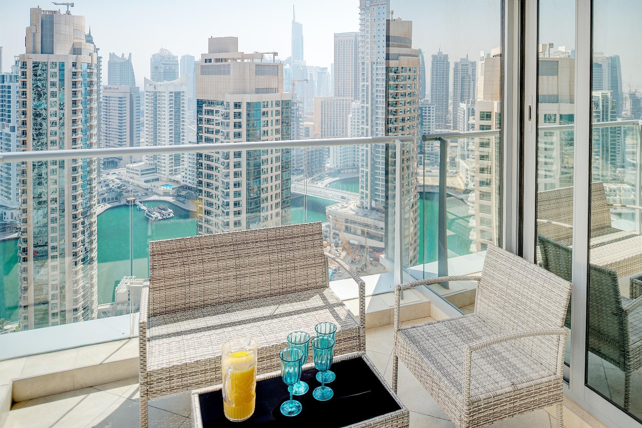 Dream Inn   Trident Grand Marina 2BR Apartment