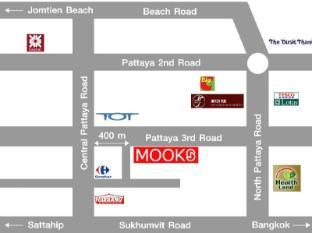 Mooks Residence Pattaya - Map