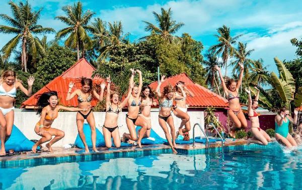 Slumber Party Hostel Koh Phangan