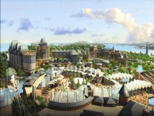 Resorts World Sentosa - Festive Hotel Singapore - Resorts World Sentosa - Aerial View