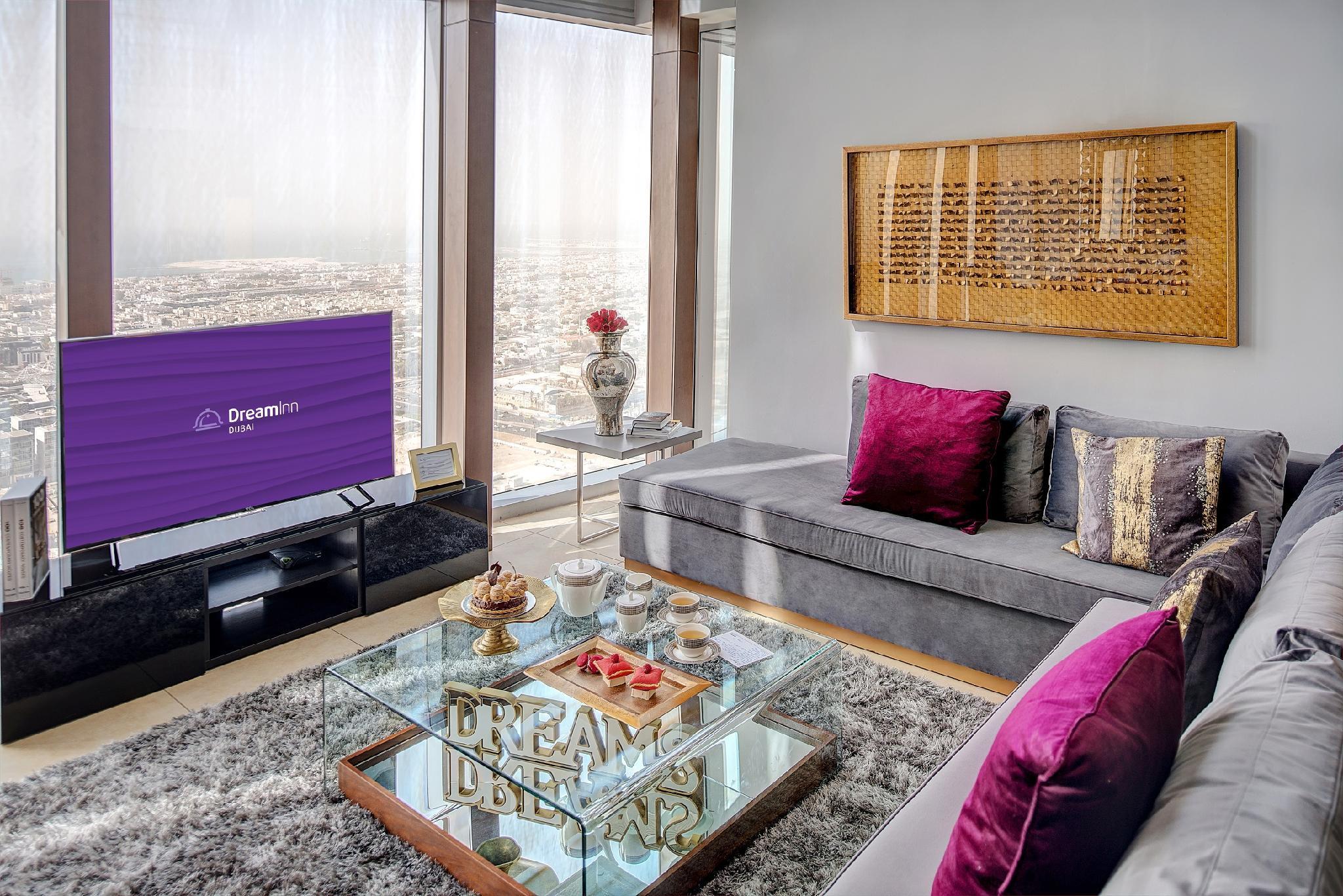 Dream Inn   48 Burj Gate 5BR Duplex Apartment