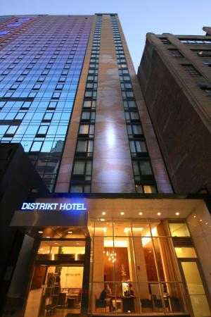 Distrikt Hotel New York City Tapestry Collection by Hilton New York