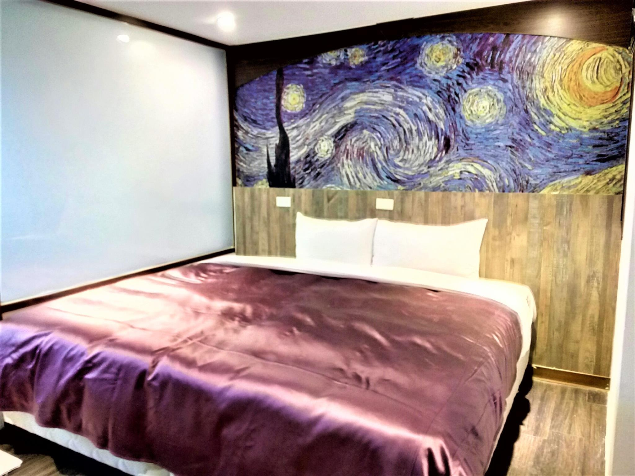 Art House Double Room The Starry Night