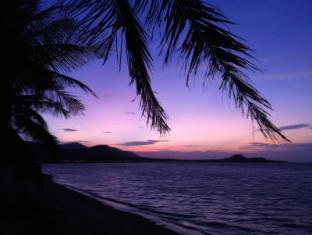 Ban Sabai Big Buddha Hotel Samui - Evening light on the beach
