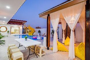 [トゥッタイ]ヴィラ(250m2)| 4ベッドルーム/4バスルーム Baan Ingtawan poolvilla huahin