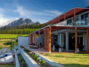 Clouds Wine and Guest Estate Stellenbosch - Clouds Wine Terrace with Mountain Views