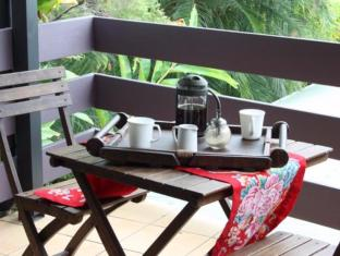 Airlie Beach Motor Lodge Whitsunday Islands - Altan/Terrasse