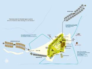 Constance Moofushi Maldives Islands - Floor Plans