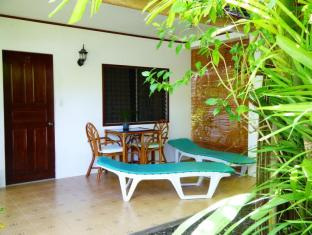 Marcosas Cottages Resort Moalboal - Balkon/Terrasse