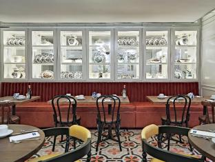 เอช 10 วิลลา เดอ ลา เรนา บูทิกโฮเต็ล มาดริด - ภัตตาคาร