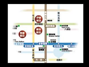 Erin Hotel Taipei - Map