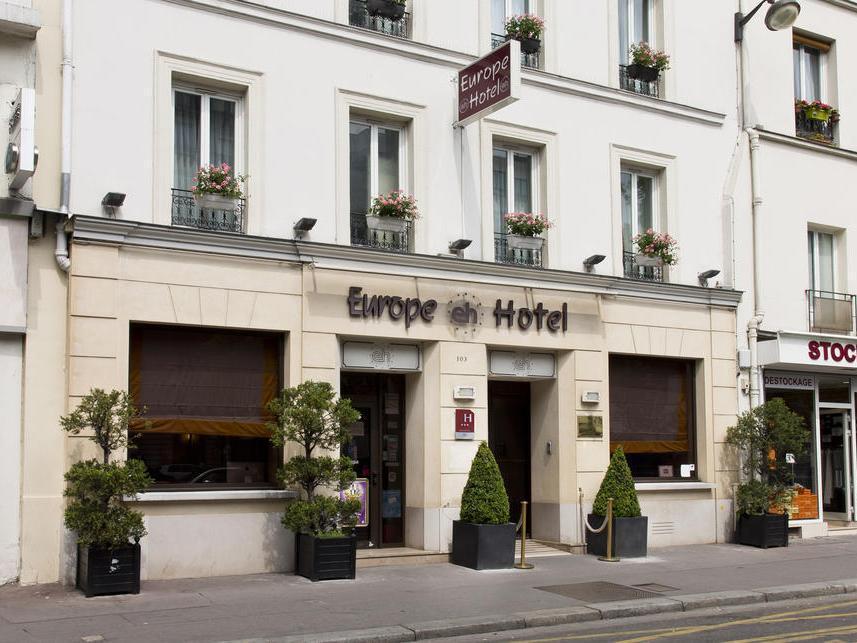 Europe Hotel Paris Tour Eiffel