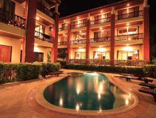 Sun Hill Hotel Phuket - Pool at night