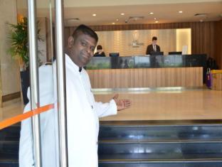 Hotel Grand Pacific Singapur - vhod