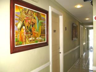 The Royale House Travel Inn & Suites Davao City - Hotellet från insidan