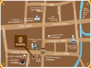 Chinotel Phuket - Map