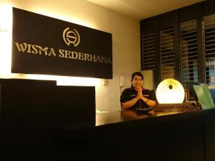 Wisma Sederhana Budget Hotel Medan - Recepció