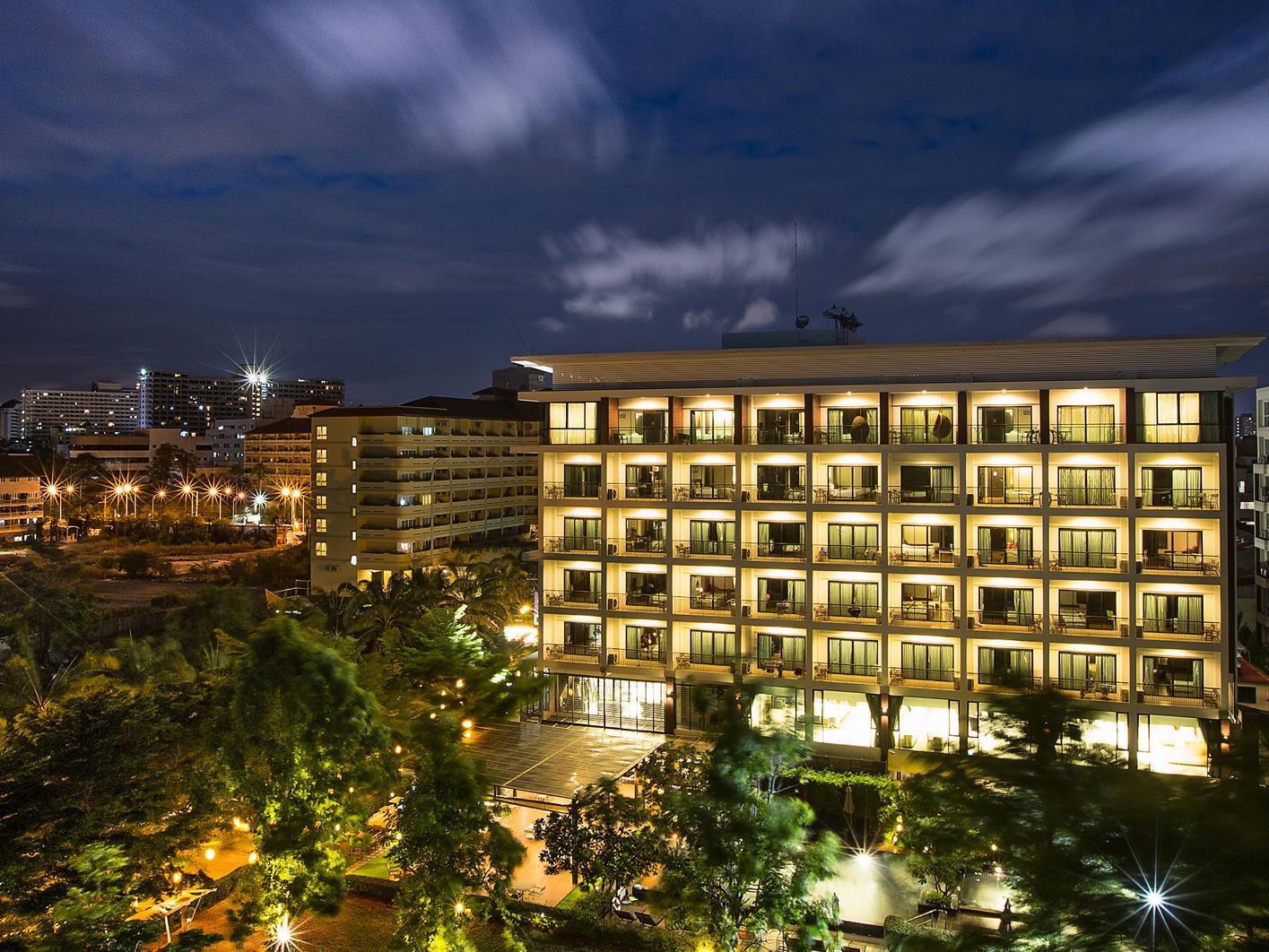 Отель паттайя jomtien 3