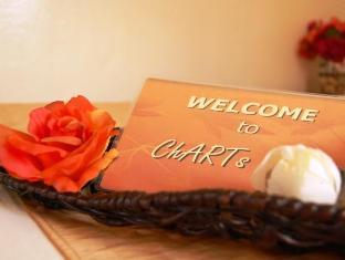 Charts Resort & Art Cafe Panglao Island - קבלה