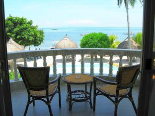 Linaw Beach Resort and Restaurant otok Panglao  - Balkon/terasa