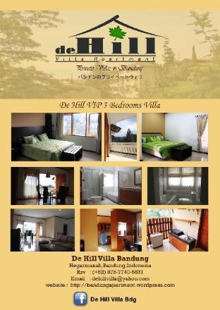 3 Bedroom De Hill Villa Apartment No 5 Bandung