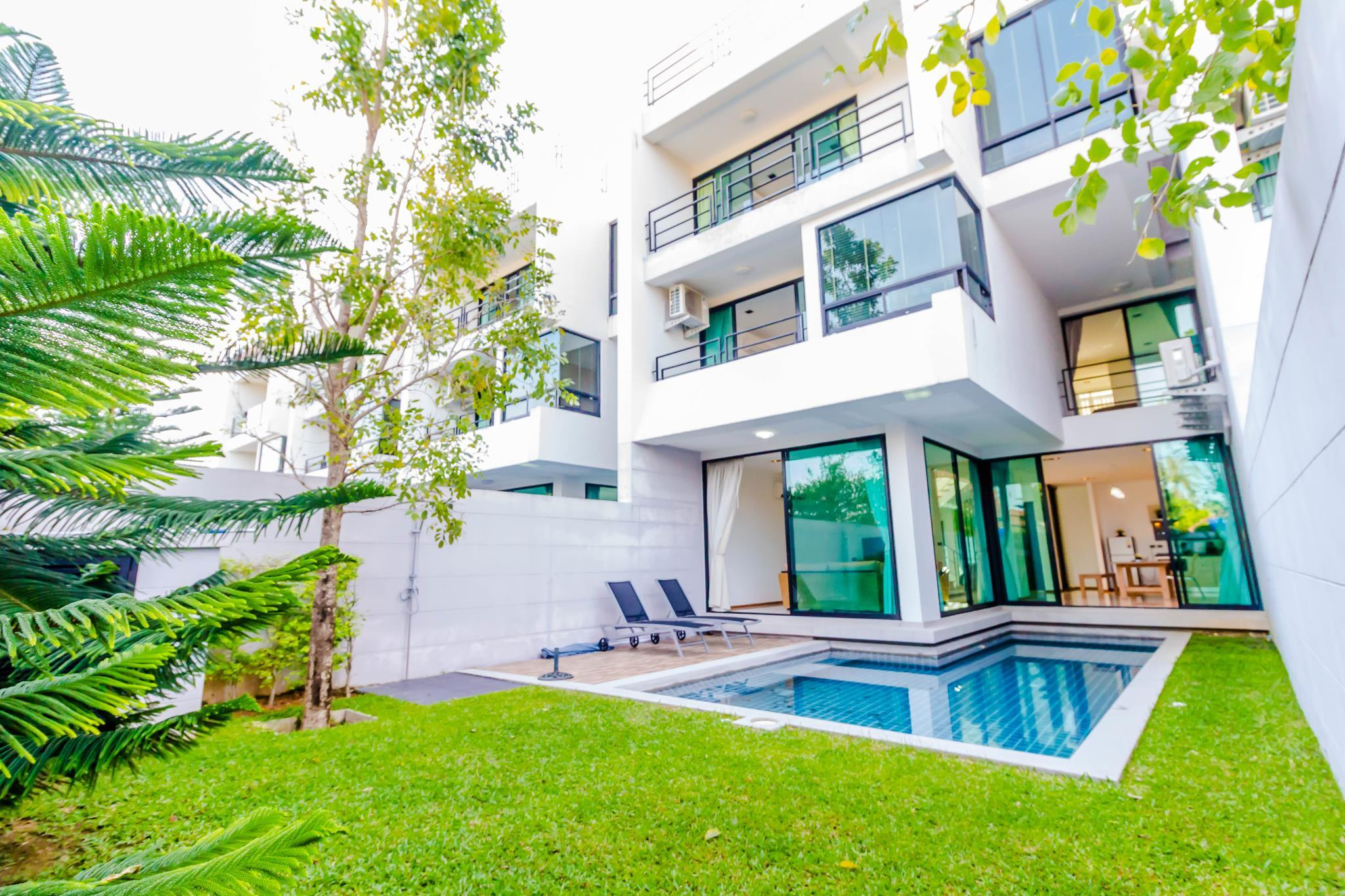 Seaview 3 Bedrooms Villa In Rawai Beach
