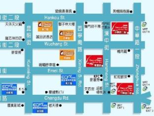 ECFA Hotel Taipei - Map