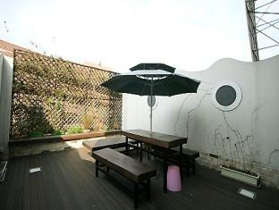 Joy Tourist Hotel Daejeon - Balkon/terasa