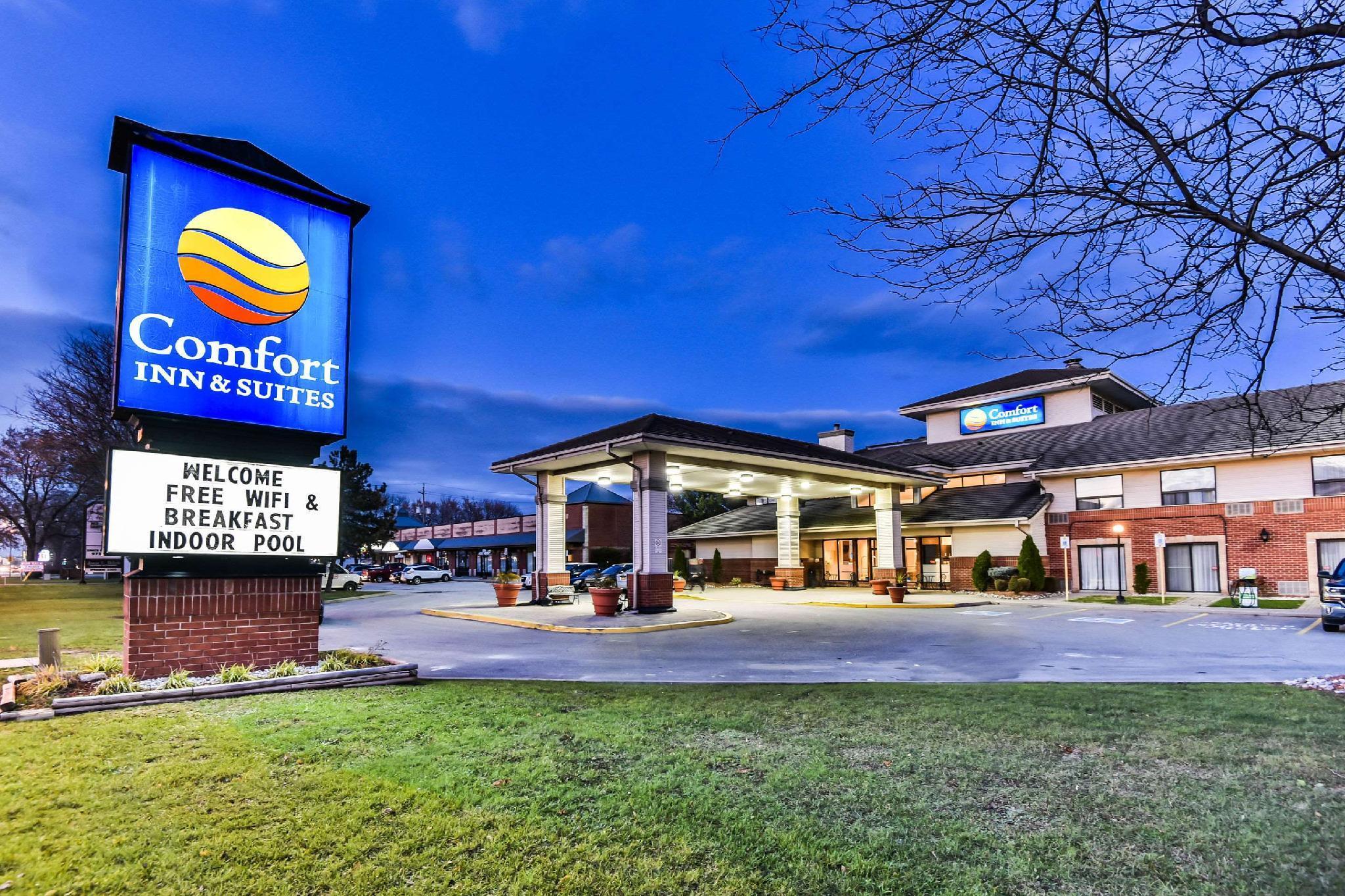Comfort Inn And Suites Ambassador Bridge Windsor