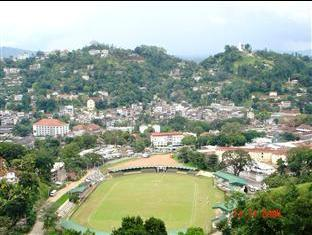 Peak Residence Kandy - View from the Hotel of the Bogambara Stadium