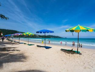 Patong Beach Bed and Breakfast Phuket - Hotellet udefra