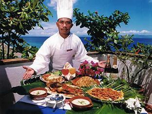 Cabana Beach Resort Moalboal - Restaurant