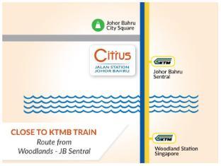 Citrus Hotel Johor Bahru by Compass Hospitality Johor Bahru - Close to KTMB train - route to Woodlands Singapore