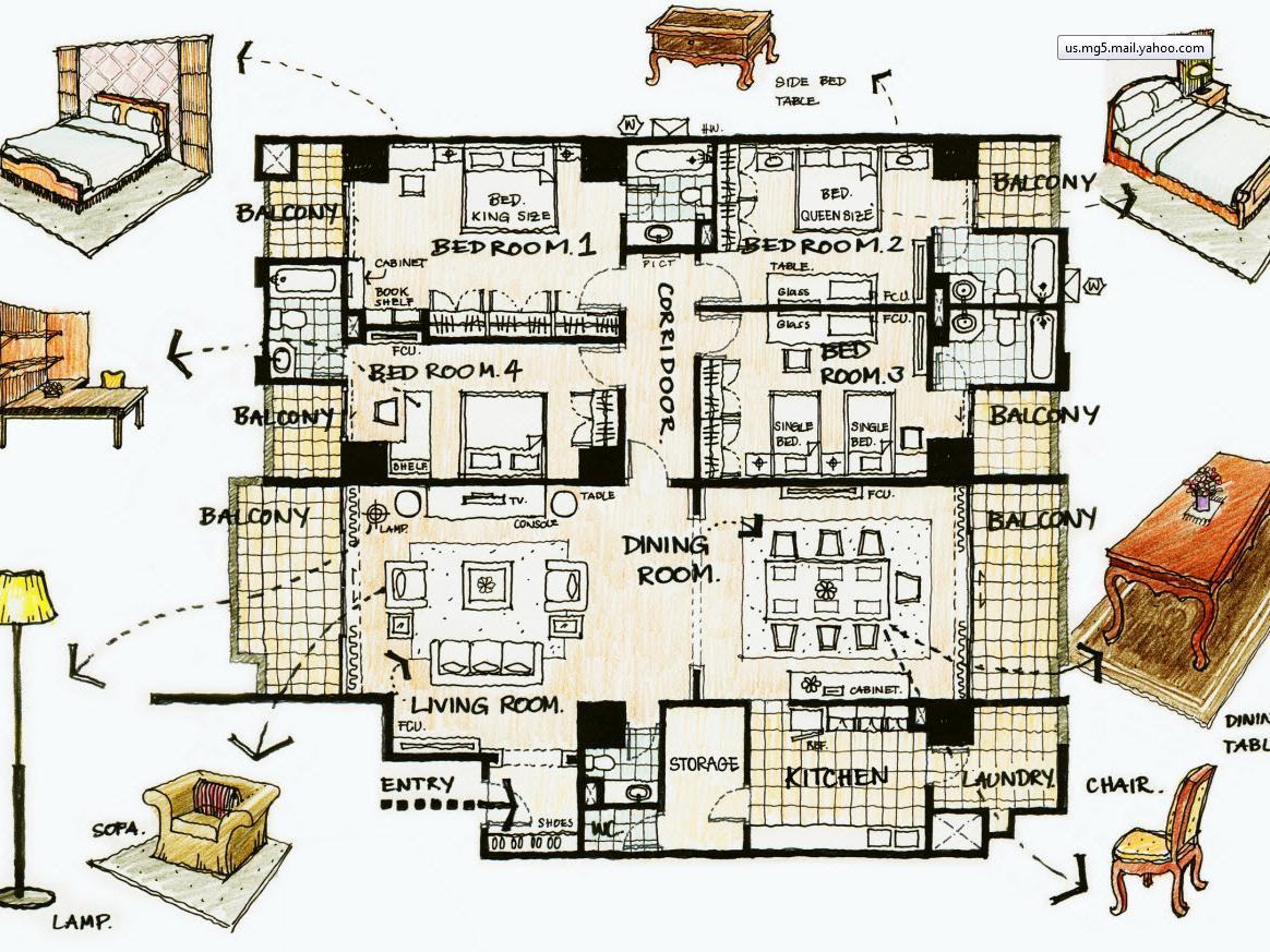 オーキッド ビュー アパートメント2