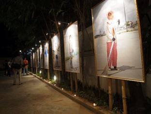 Le Leela Villa Hotel Phnom Penh - Exhibition