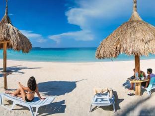 Beach Placid Resort Bantayan Island - Beach front view