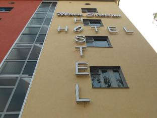 Main Station Hotel & Hostel Berlin - Hotellet från utsidan