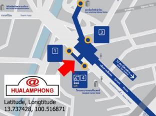 @Hua Lamphong Hostel Μπανγκόκ - χάρτης