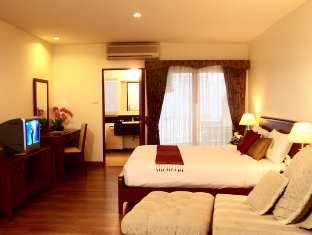 LK Pavilion Executive Serviced Apartment Pattaya - Studio Balcony Double