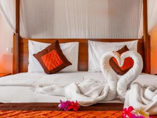 Rama Shinta Hotel Candidasa Балі - Вітальня
