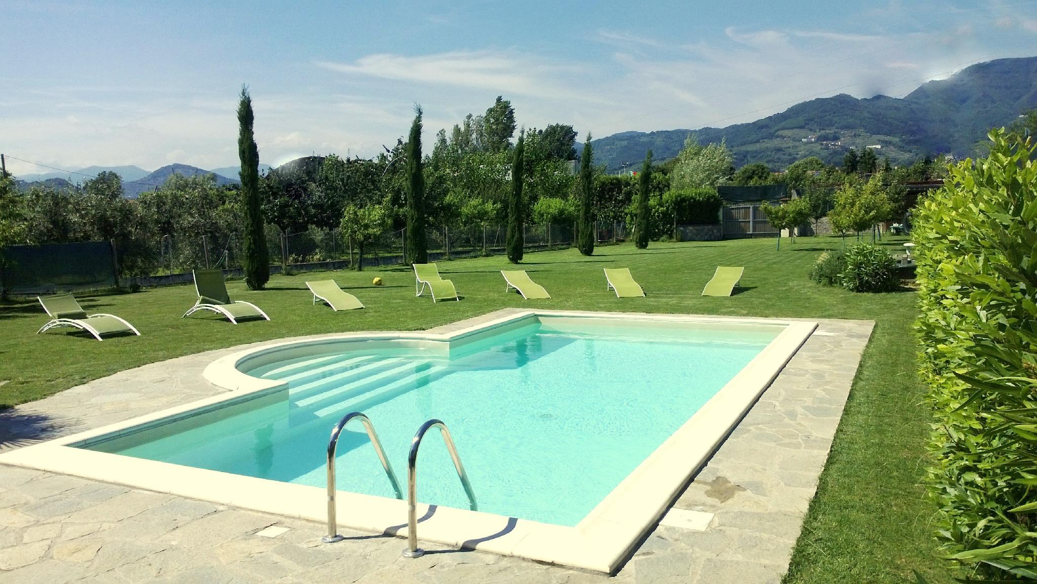 VILLA IN LUCCA In A Residential Area