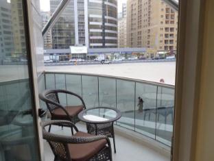 시티 스테이 호텔 아파트먼트 두바이 - 발코니/테라스