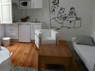 อพาร์ตาเมนโตส ลาสเลทราส บายเตอราวิชั่นทราเวล มาดริด - ห้องพัก