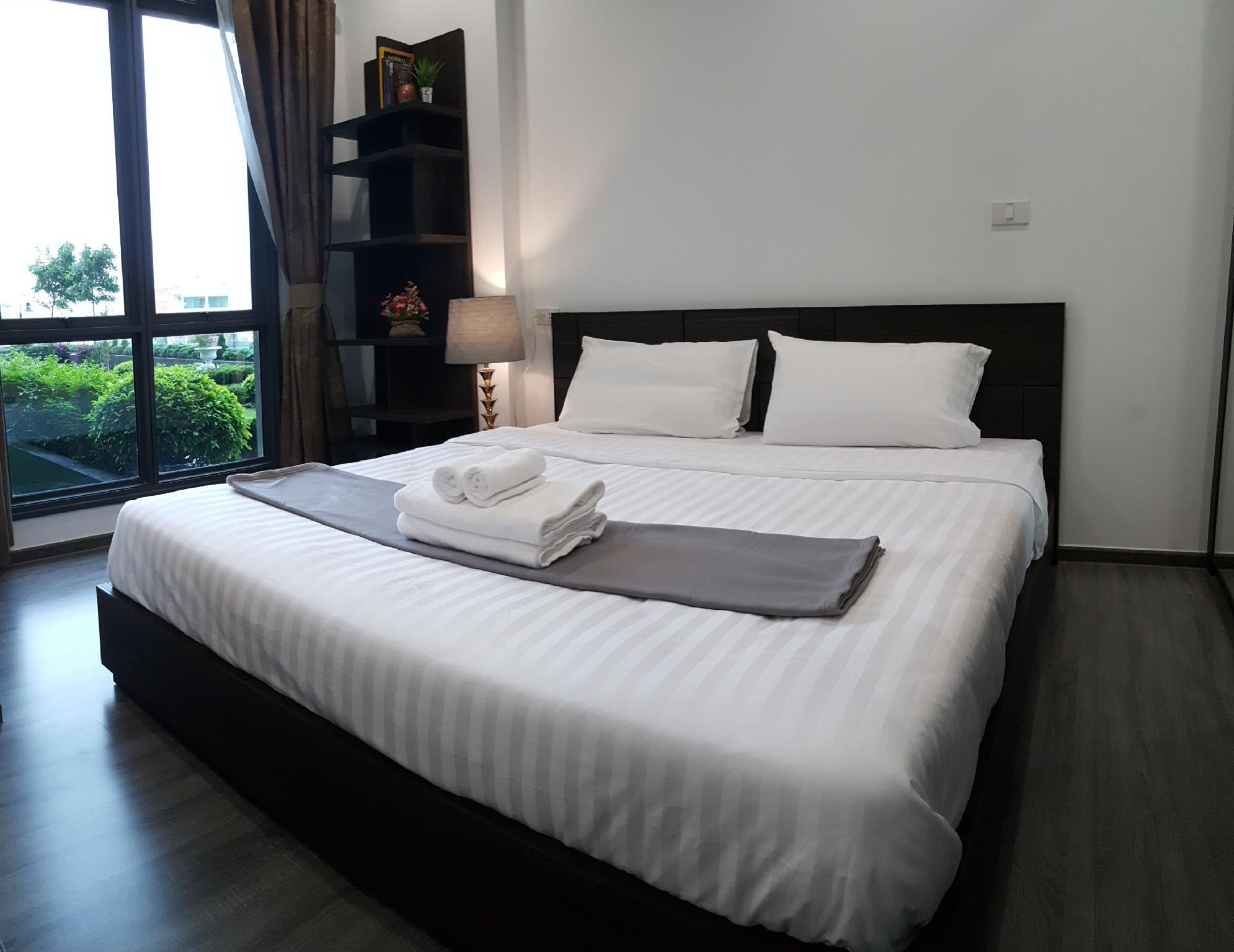 Luxury Room By Garden View 1 Min To Skytrain