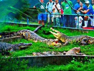 Piazza Luna Tower Davao City - Nearby Attraction - Crocodile Farm