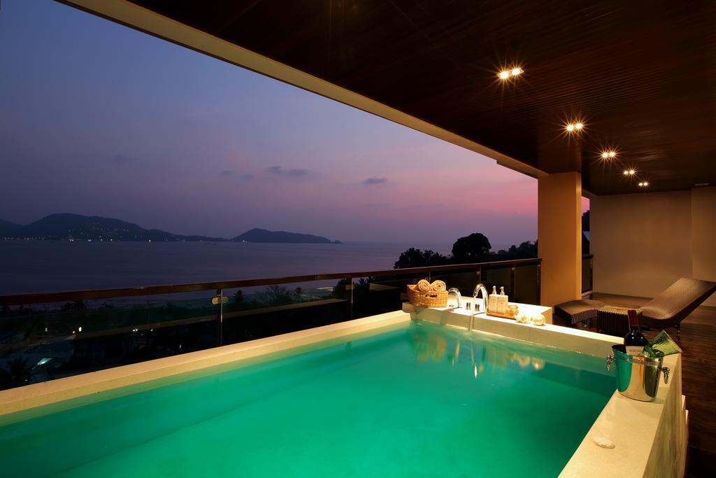 Privilege Jacuzzi Plunge Pool Panoramic Sea View